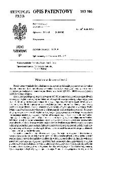 Układ mnożnika częstotliwości : opis patentowy nr 153906