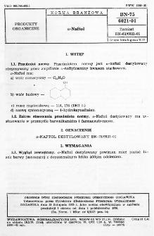 a-Naftol BN-75/6021-01