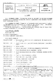 Strop DZ-3 - Warunki wykonania i badania techniczne przy odbiorze BN-65/8841-05