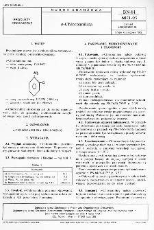 o-Chloroanilina BN-81/6021-03