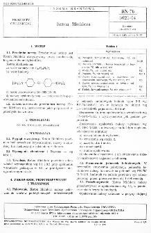 Keton Michlera BN-78/6021-04