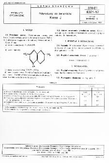 Półprodukty do barwników - Kwas J BN-81/6021-12