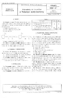 Półprodukty do barwników - o-Toluidyd acetylooctowy