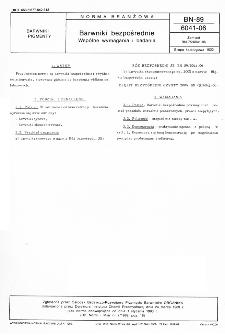 Barwniki bezpośrednie - Wspólne wymagania i badania BN-89/6041-06