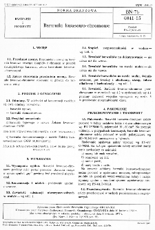 Barwniki kwasowo-chromowe BN-76/6041-15