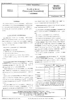 Barwniki polfalanowe - Oznaczanie koncentracji i odcienia BN-83/6041-54