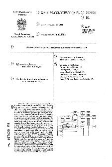 Układ do badania wyzwalaczy magnetycznych wyłączników samoczynnych : opis patentowy nr 157420
