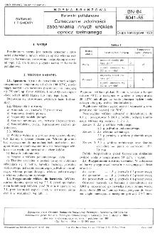 Barwniki polfalanowe - Oznaczanie zdolności zabarwiania innych włókien oprócz wełnianego BN-84/6041-55
