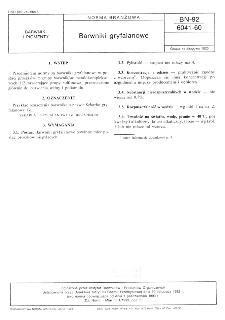 Barwniki gryfalanowe BN-92/6041-60