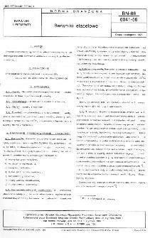 Barwniki elacelowe BN-86/6041-56