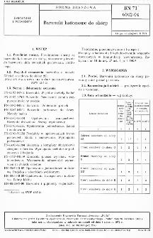 Barwniki kationowe do skóry BN-71/6042-04