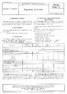 Barwniki korfilowe BN-86/6042-13