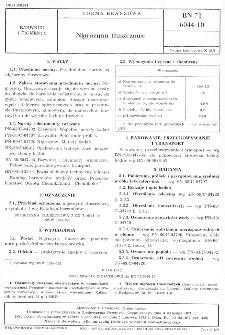 Nigrozyny tłuszczowe BN-71/6044-10