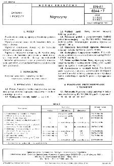 Nigrozyny BN-81/6044-17