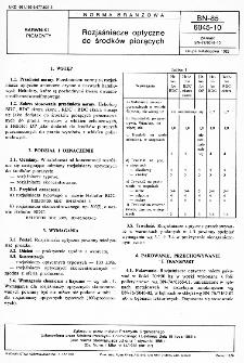 Rozjaśniacze optyczne do środków piorących BN-85/6045-10