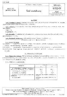 Sód metaliczny BN-65/6012-01