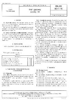 Hel gazowy czysty 45 BN-80/6017-15