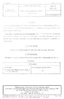 Kwas fluorowodorowy 50% techniczny BN-75/6014-06