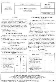 Kwas fluorokrzemowy techniczny BN-76/6014-07