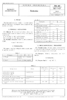 Solanka BN-86/6011-07
