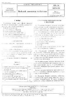 Rodanek amonowy technicznyo BN-80/6016-04