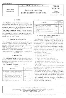 Siarczan żelazawy siedmiowodny techniczny BN-89/6016-10