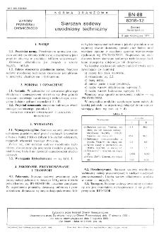 Siarczan sodowy uwodniony techniczny BN-88/6016-12