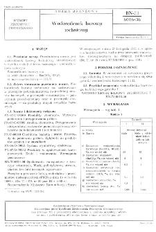 Wodorotlenek barowy techniczny BN-73/6016-36