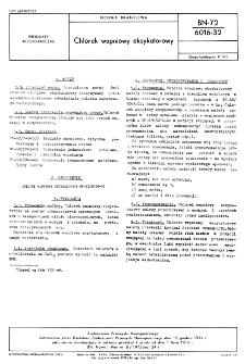 Chlorek wapniowy eksykatorowy BN-72/6016-32