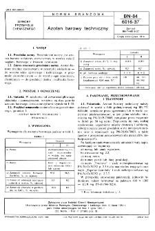 Azotan barowy techniczny BN-84/6016-37