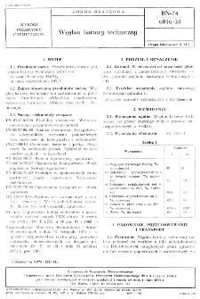 Węglan barowy techniczny BN-74/6016-38
