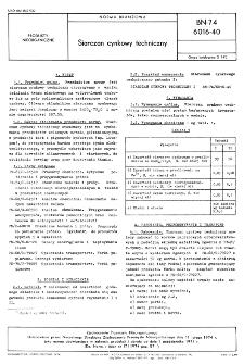 Siarczan cynkowy techniczny BN-74/6016-40