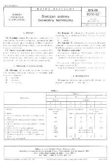 Siarczan sodowy bezwodny techniczny BN-86/6016-52