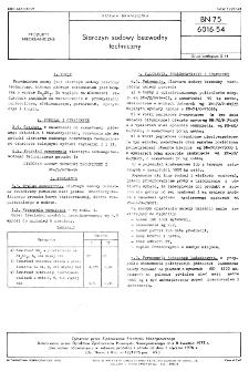 Siarczyn sodowy bezwodny techniczny BN-75/6016-54