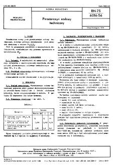 Pirosiarczyn sodowy techniczny BN-75/6016-56