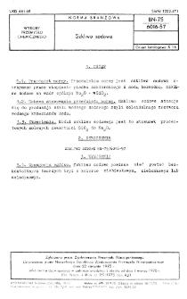 Szkliwo dodowe BN-75/6016-57