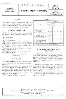 Siarczek sodowy techniczny BN-85/6016-58