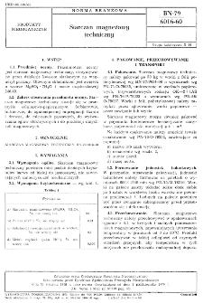 Siarczan magnezowy techniczny BN-79/6016-60