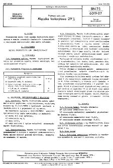Nawozy sztuczne - Mączka fosforytowa 29% BN-75/6019-07