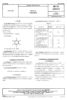 Pestycydy - Gamatox BN-75/6053-11