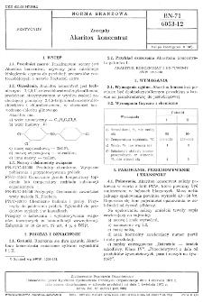 Zoocydy - Akaritox koncentrat BN-71/6053-12