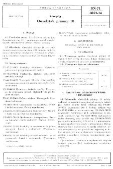 Zoocydy - Owadziak płynny 10 BN-71/6053-14