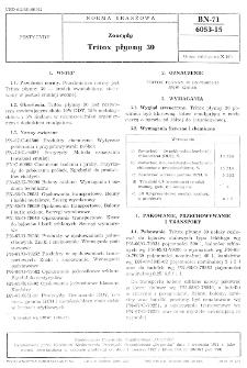 Zoocydy - Tritox płynny 30 BN-71/6053-15