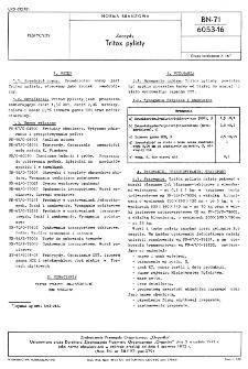 Zoocydy - Tritox pylisty BN-71/6053-16