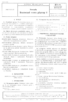 Zoocydy - Roztoczol extra płynny 8 BN-71/6053-17