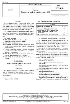 Zoocydy - Roztoczol extra zawiesinowy 30 BN-71/6053-18