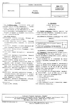 Zoocydy - Piretoks BN-72/6053-20