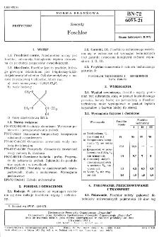 Zoocydy - Foschlor BN-72/6053-21