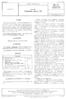 Zoocydy - Owadofos płynny 50 BN-75/6053-24