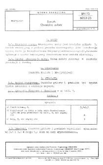 Zoocydy - Owadofos pylisty BN-75/6053-25